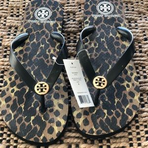 Tory Burch Flip Flops with tags Size 9